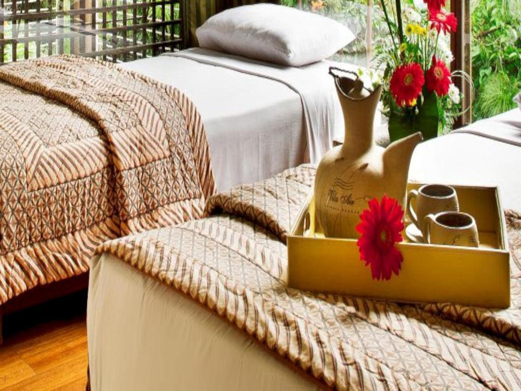 kamar Vila Air Natural Resort Lembang bandung